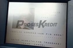 2. Kemudian masukkan PIN ATM