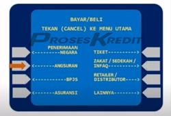 3. Pilih menu Bayar Beli