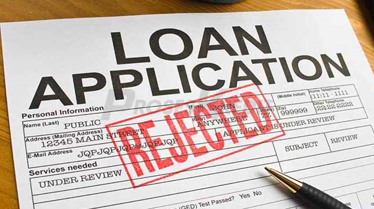 Penyebab Pengajuan Pinjaman Ditolak