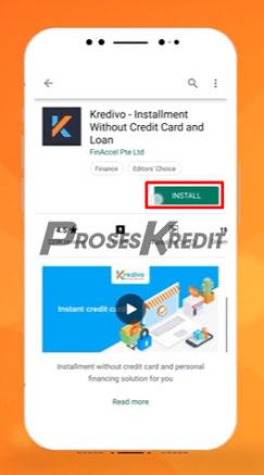 1. Download Aplikasi Kredivo