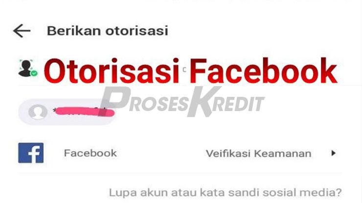 Fungsi Otorisasi Akun Facebook di Akulaku