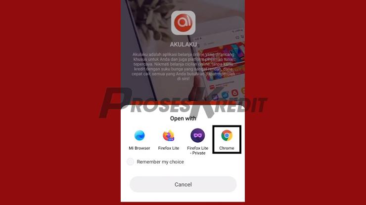 Buka Dengan Browser