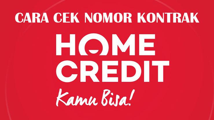 Cara Cek Nomor Tagihan Home Credit