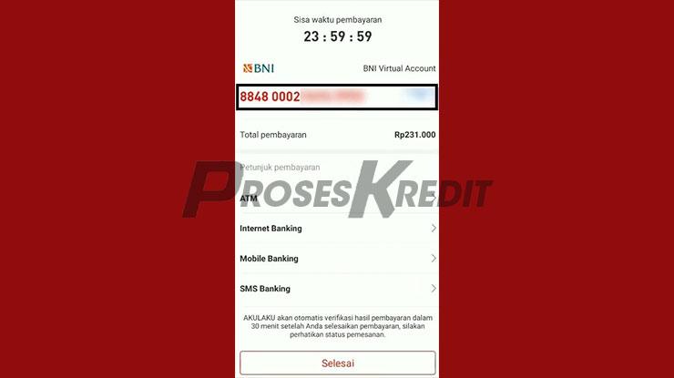 Salin Kode Virtual Account