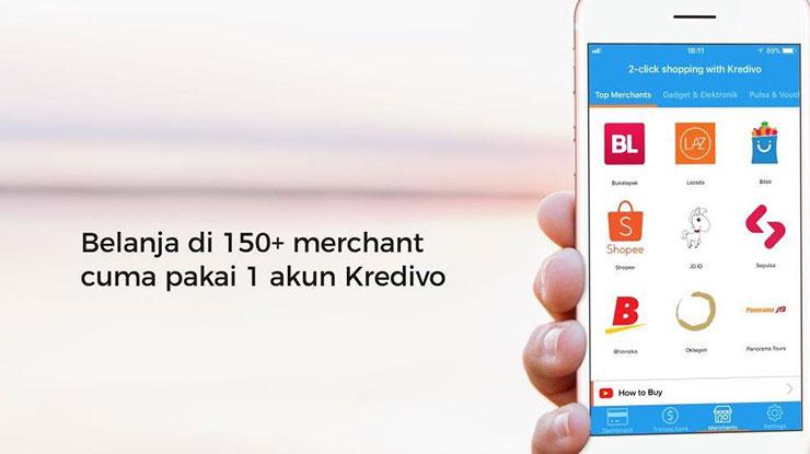 Daftar Merchant Online Kredivo