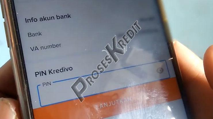 Input PIN Kredivo