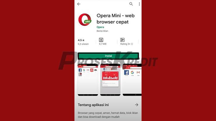 Install Opera Mini
