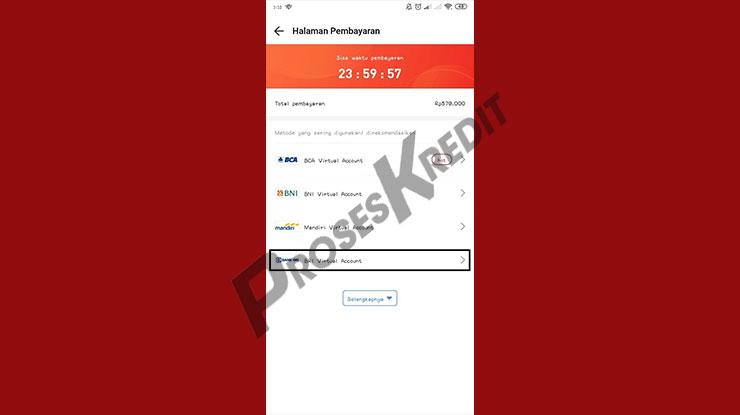 Pilih BRI Virtual Account untuk Bayar Akulaku