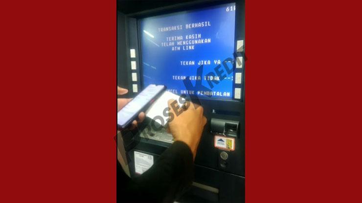 Bayar Akulaku via ATM BRI Telah Berhasil