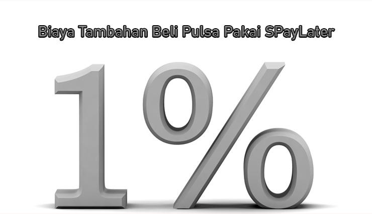Biaya Tambahan Untuk Pembelian Pulsa Pakai Shopee PayLater
