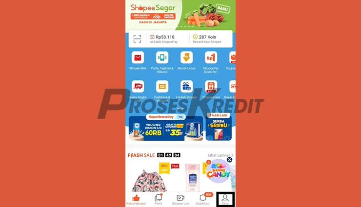 Jalankan Aplikasi Shopee 4
