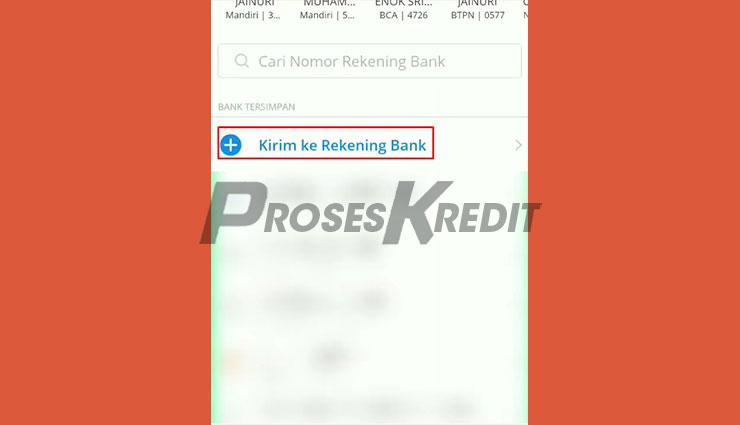 Kirim ke Rekening Bank