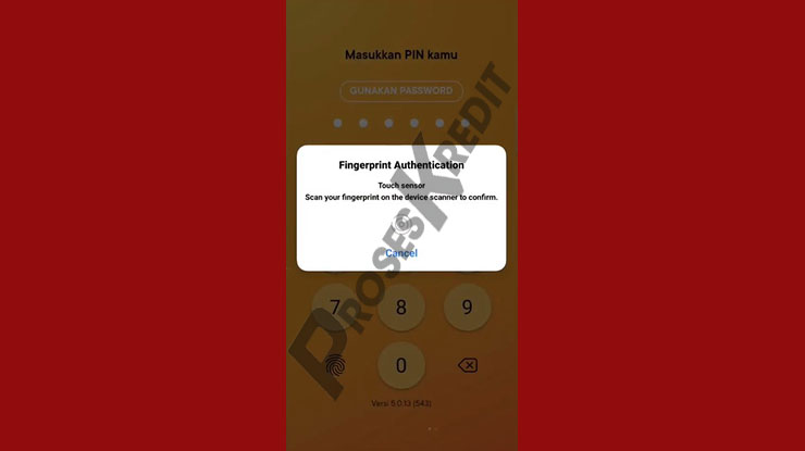 Login Aplikasi Bank Jago