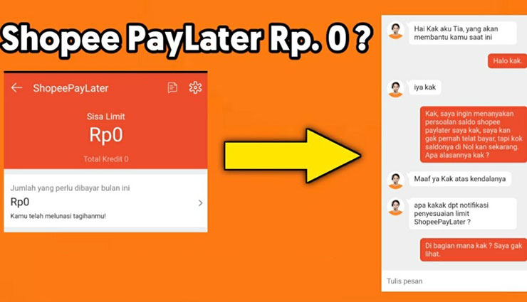 Penyebab Metode Pembayaran SPayLater Tidak Tersedia