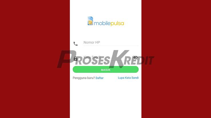 Buka Aplikasi Mobile Pulsa