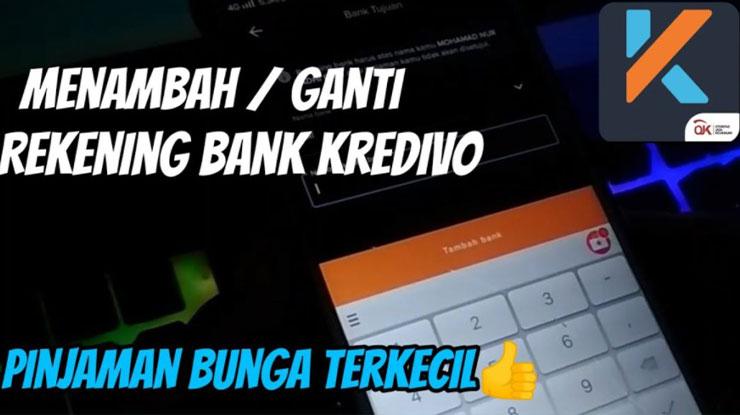Cara Menambahkan Rekening Bank di Kredivo