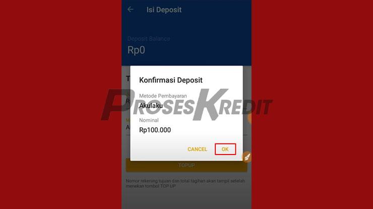 Konfirmasi Deposit