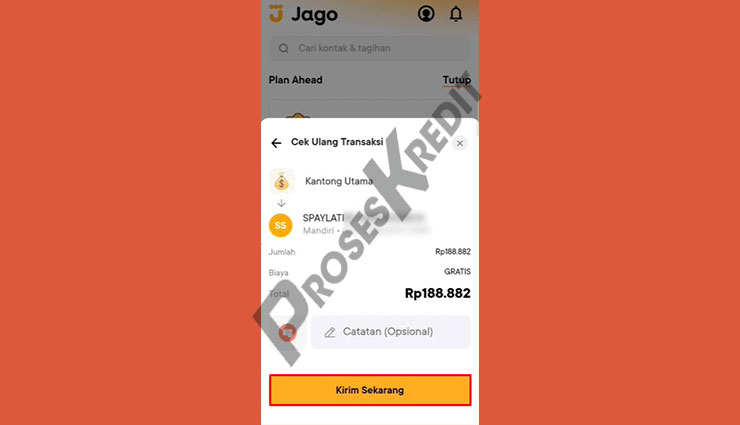 Konfirmasi Pembayaran Shopee PayLater Lewat Bank Jago