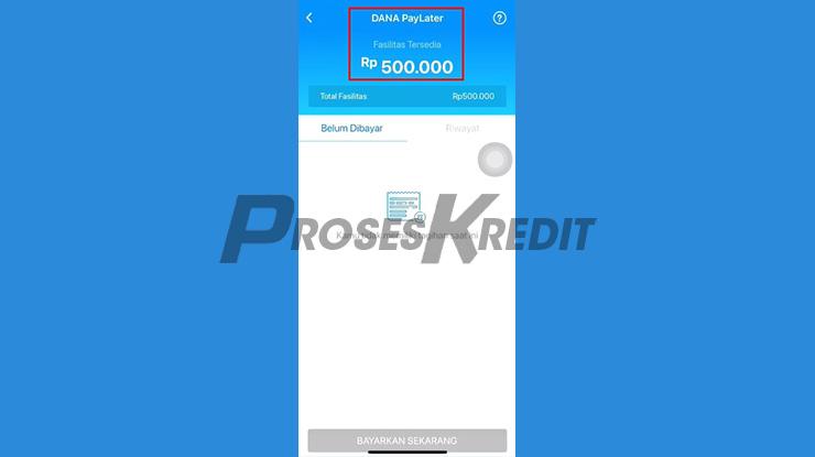 Selamat DANA PayLater Berhasil Diaktifkan