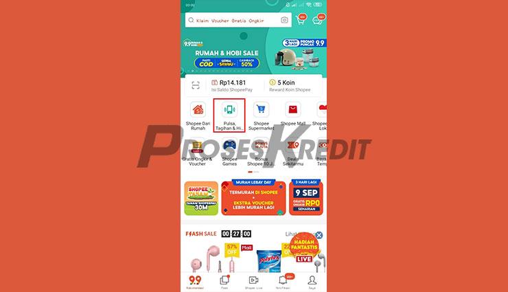 Buka Aplikasi Shopee