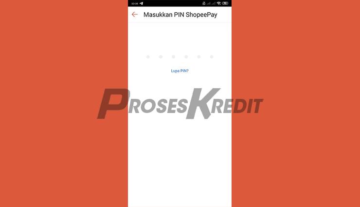 Input PIN ShopeePay