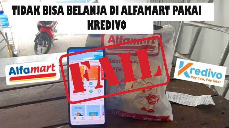 Kredivo Tidak Bisa Belanja di Alfamart
