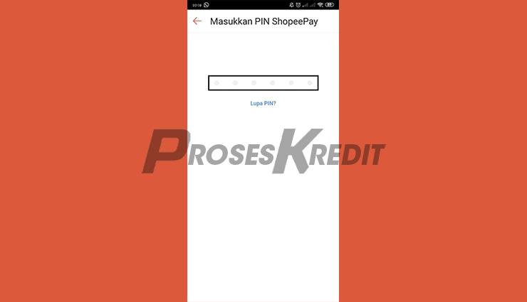 Masukkan PIN ShopeePay & Bayar Listrik Pakai SPayLater Selesai