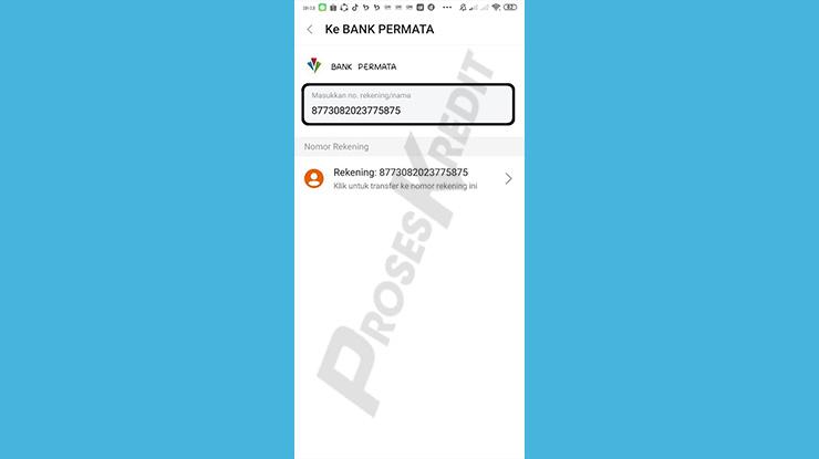 Paste Nomor VA Bayar Tagihan Kredivo via SeaBank