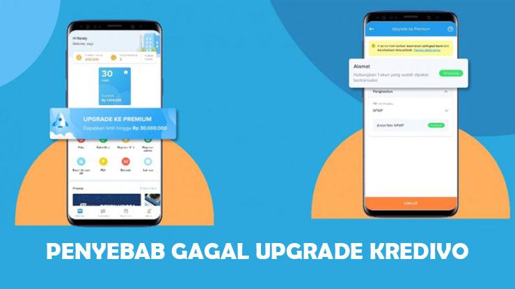 Penyebab Kredivo Gagal Upgrade ke Premium